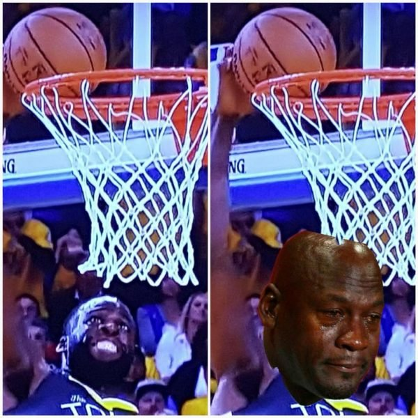 Draymond Can't Dunk