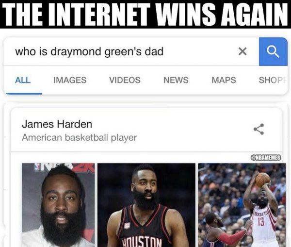 Draymond's Daddy