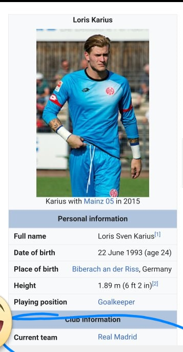 Karius Real Madrid