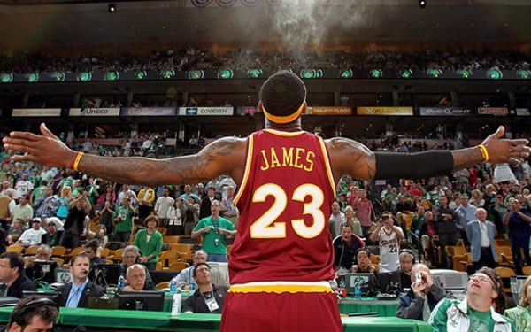 LeBron Boston Celtics