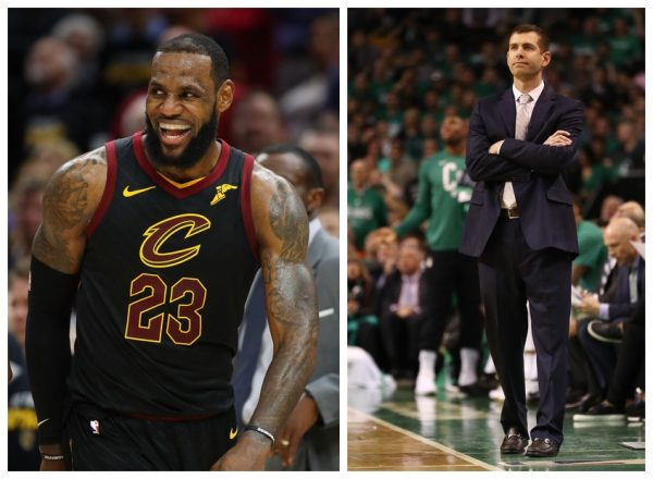 LeBron James, Brad Stevens