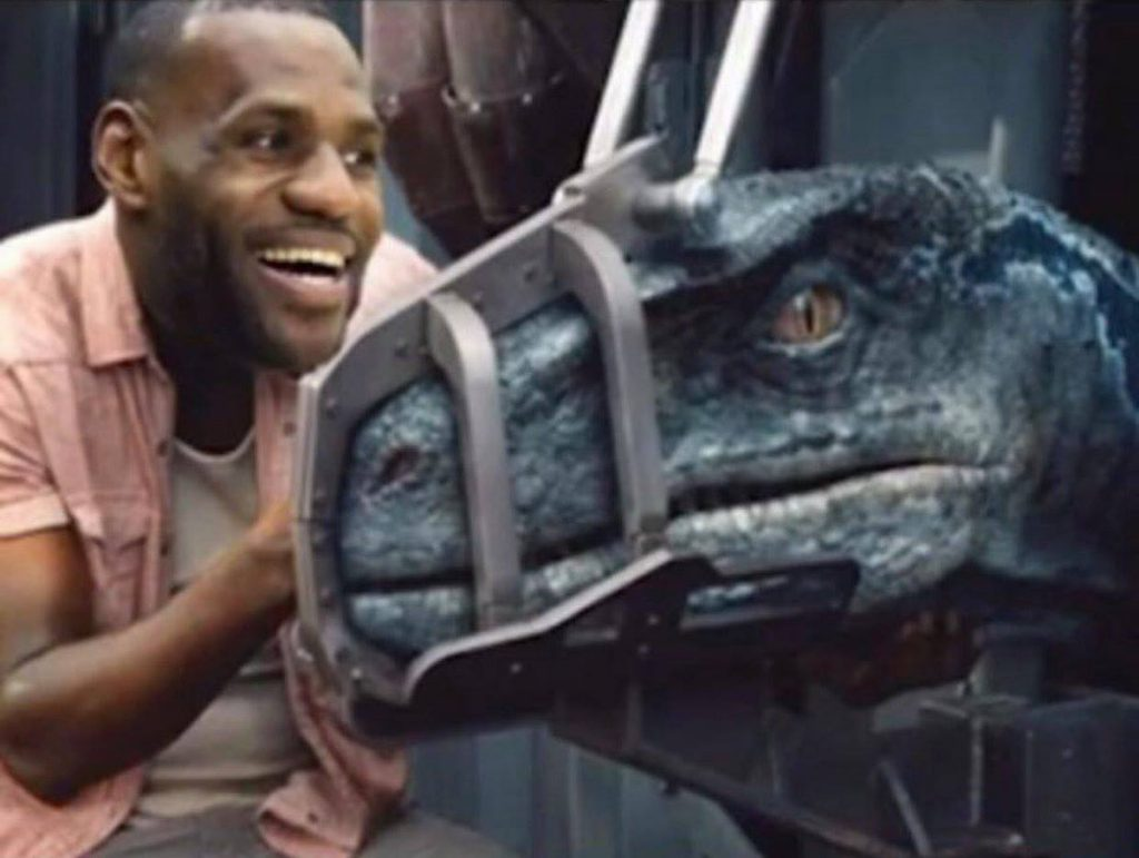 LeBron catches Raptors