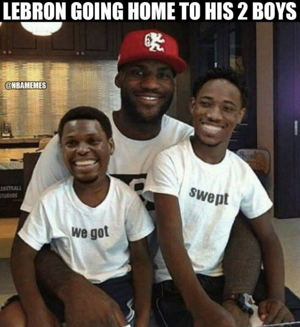 Lebron's sons