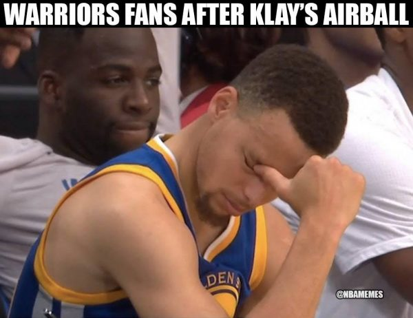 Sad Steph Curry