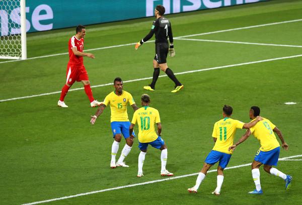 Brazil beats Serbia