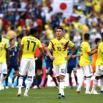 Colombia lose to Japan
