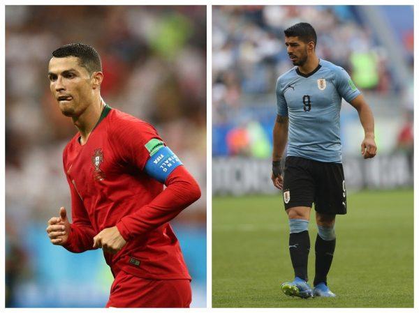 Cristiano Ronaldo, Luis Suarez