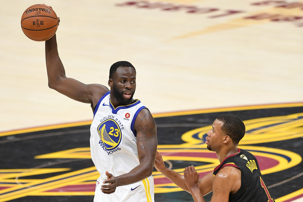 Draymond Green takes jab at Tristan Thompson during Warriors parade