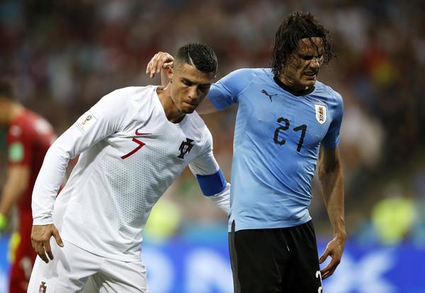 Edinson Cavani, Cristiano Ronaldo