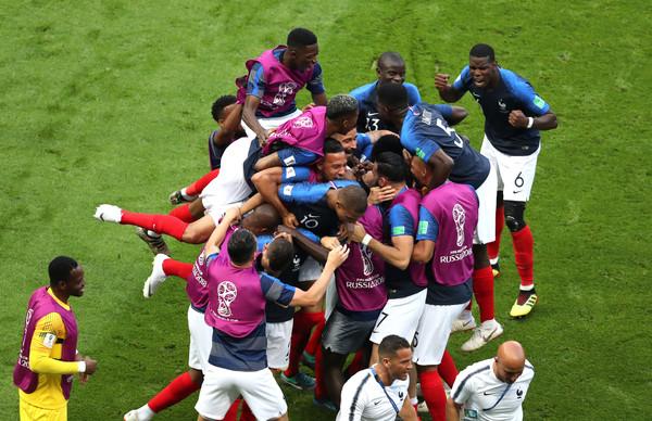 France Beats Argentina