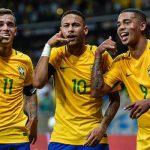 Neymar, Coutinho, Jesus