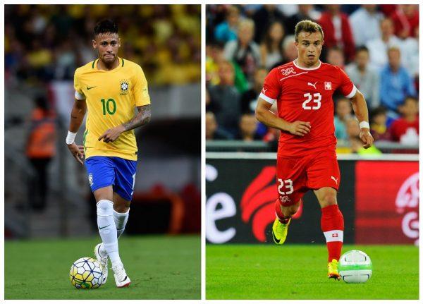 Neymar, Shaqiri