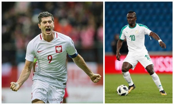 Robert Lewandowski, Sadio Mane