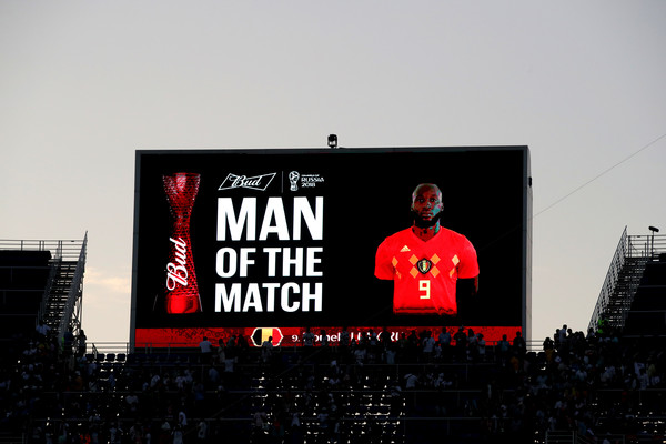 Romelu Lukaku Man of the Match