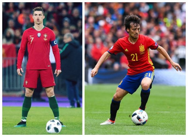 Ronaldo, David Silva