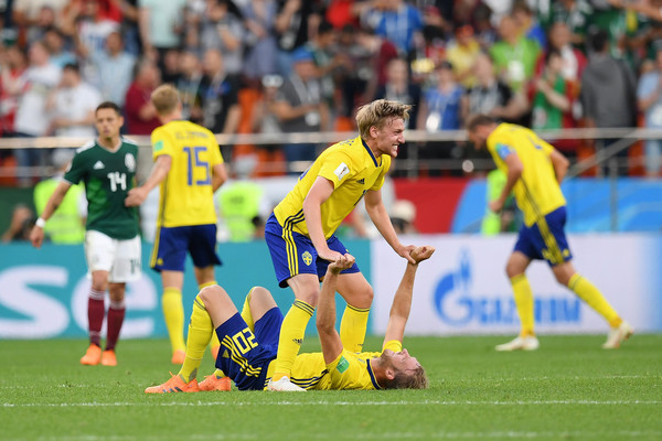 Sweden Beats Mexico