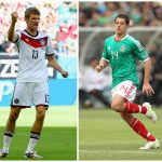 Thomas Muller, Chicharito