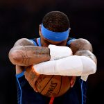 Carmelo Holding on to the Ball