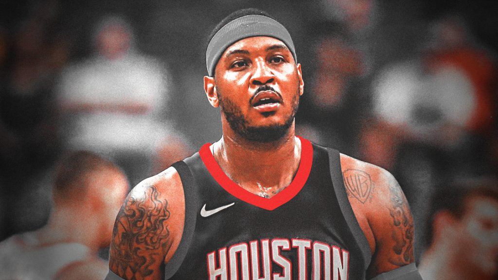Carmelo Rockets Photoshop