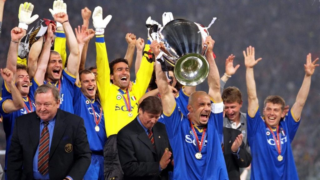 Juventus 1996 Champions League Winners