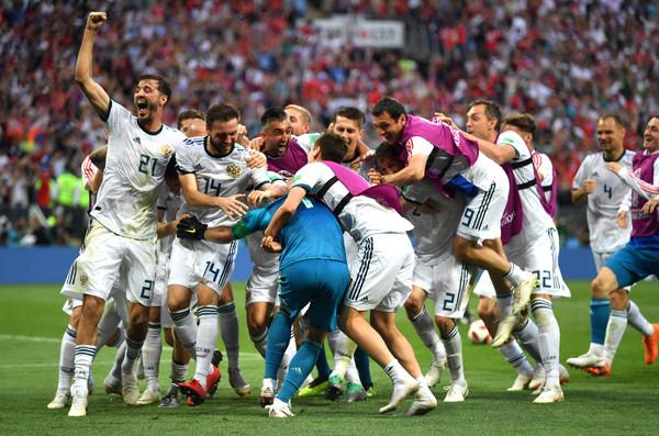Russia Beats Spain
