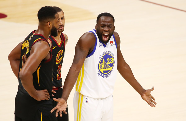 Tristan Thompson, Draymond Green