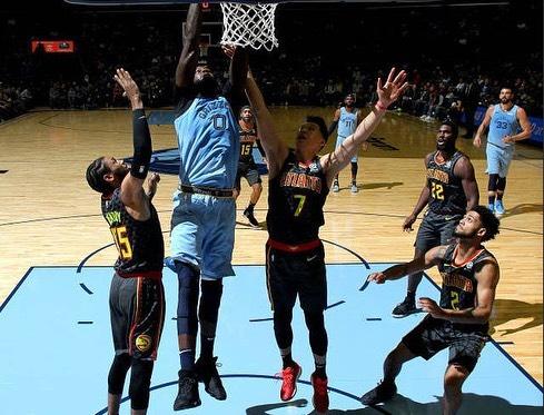 Jeremy Lin Hawks Grizzlies