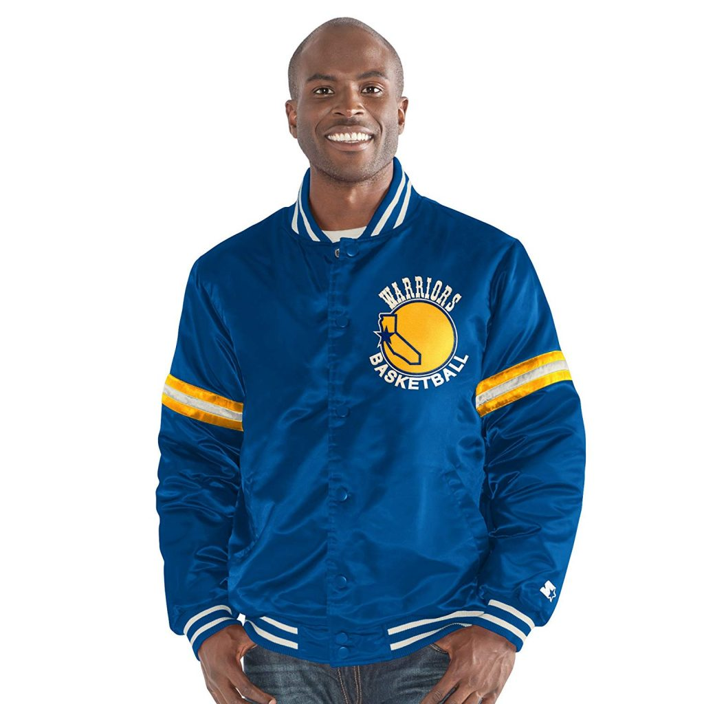 Golden State Warriors NBA Legacy Retro Jacket