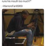 KD Alt Account Trashing Draymond