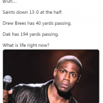 Saints Don't Understand This