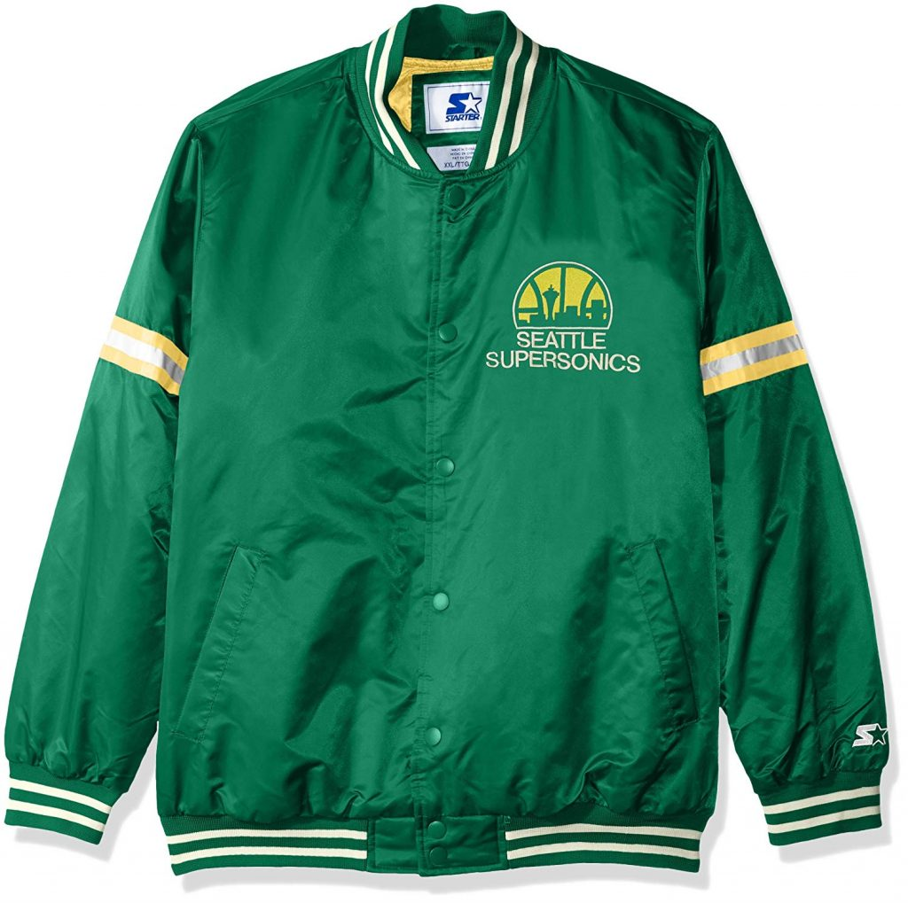 wholesale dealer d1126 389fd Seattle Supersonics NBA Legacy Retro Jacket
