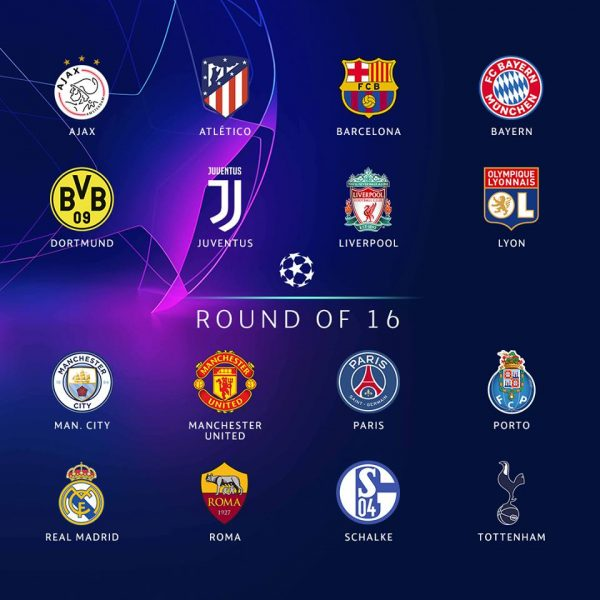 2019 Champions League Round of 16