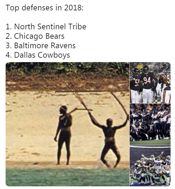 Best NFL Defenses Meme