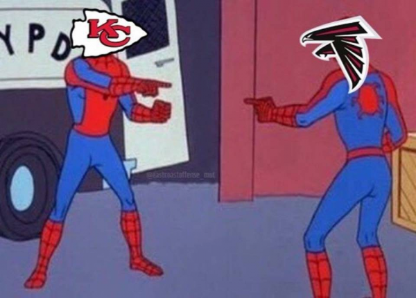 Chiefs Falcons Spiderman