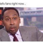 Chiefs fans right now