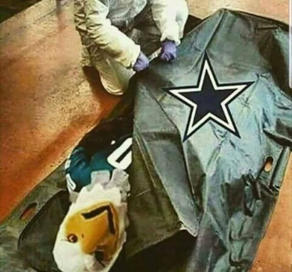 Cowboys Killed Eagles