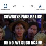 Cowboys suck again