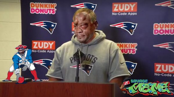Crying Belichick