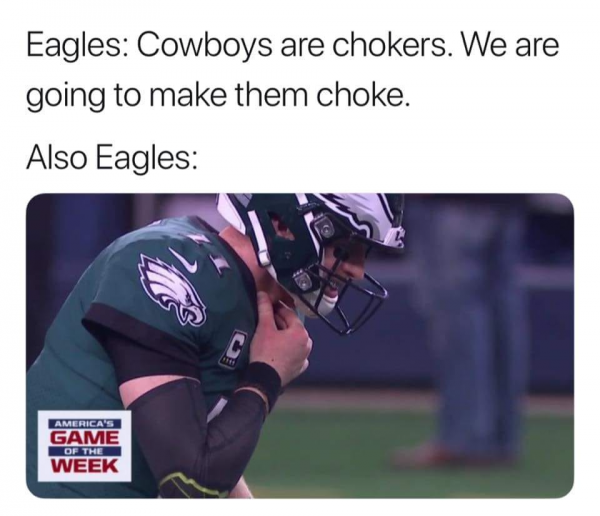 Eagles Choking