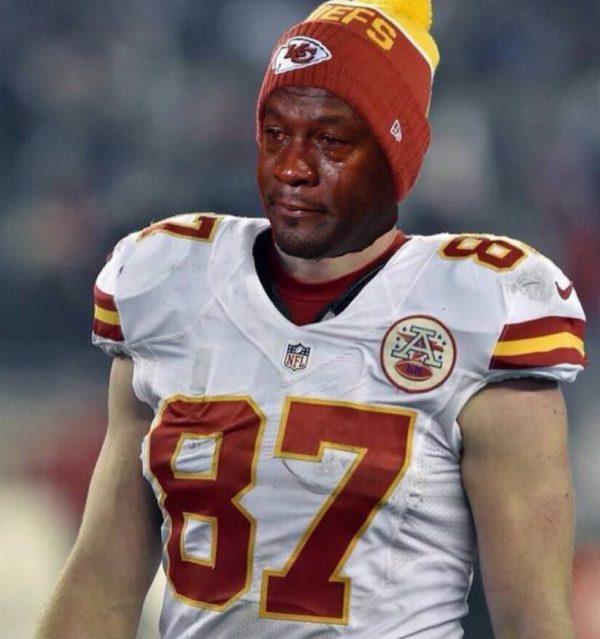 Kelce Crying Jordan