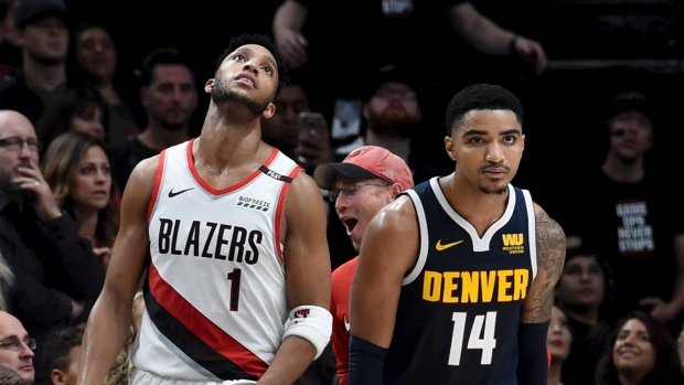 Nuggets beat Blazers