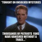 Vanishing Patriots Fans