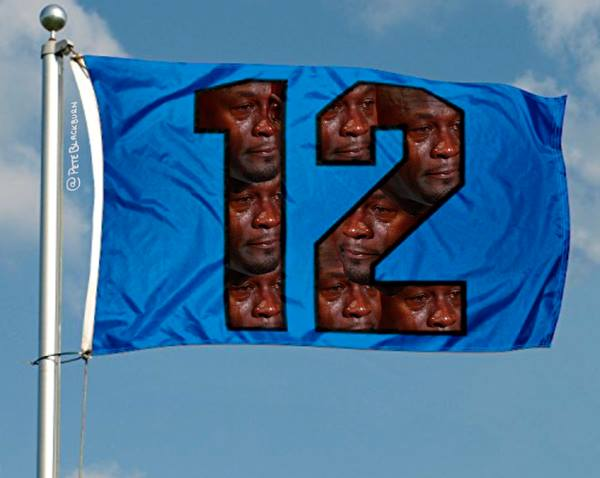 12th Man Crying Jordan