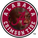 Alabama Logo Crying Jordan