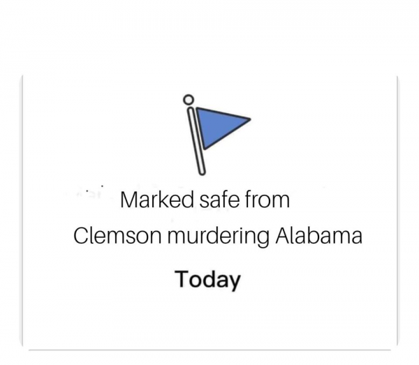 Alabama Marked Safe