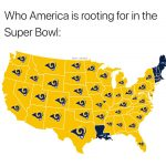 America Want the Rams to Win