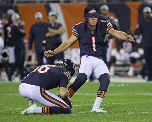 Chicago Bears Kicker Meme