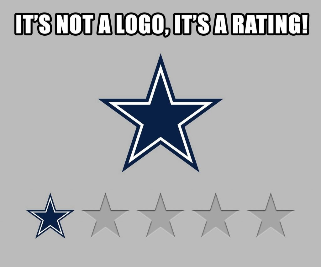 Cowboys 1-star rating