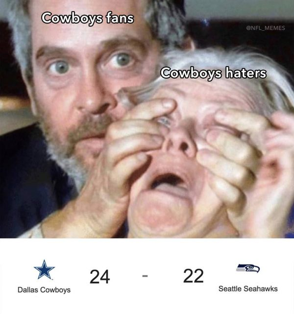 Cowboys Fans Gloating