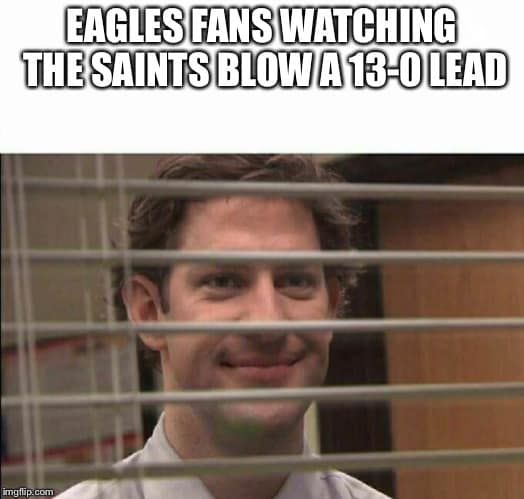 Saints fans whining about the refs